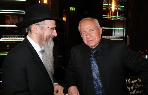 Chief Rabbi of Russia Meets with Israeli Foreign Affairs Chairman