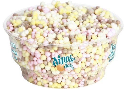 Dippin' Dots dips into the cryogenics business? Yes. Bon appetit!