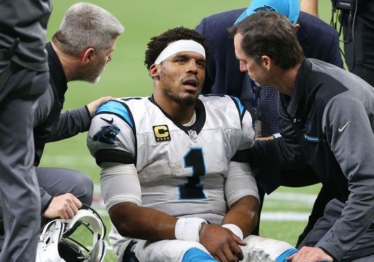 Panthers might have violated NFL's new concussion protocol on Cam Newton hit