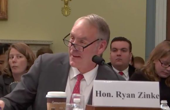 "Interior Secretary Ryan Zinke defends ""konnichiwa"" comment to congresswoman"
