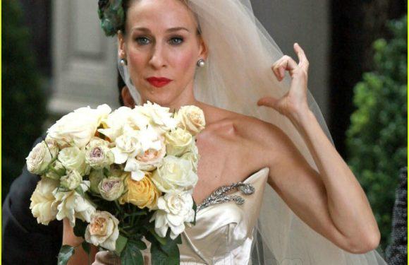 Sarah Jessica Parker's wedding dress collection